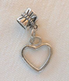 """Charms Heart Lock Key Eiffel Tower Peace Sign or Flip Flop Gift Idea   """"Heart"""" charm for Valentine's??"""