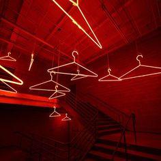 The neon entrance - Chicago MANifeste event  #HermesMANifeste #Hermes #HermesHomme by hermes