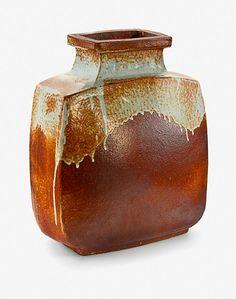 Len Castle, branch vase, press… - Modern Design / New Zealand and International Studio Pottery - Art+Object - Antiques Reporter