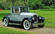 1923 Cole Sportster Sedan. The Cole Motor Car Company was an early automobile maker based in Indianapolis, Indiana. Cole automobiles were built from 1908 until 1925. They were quality-built luxury cars. The make is a pioneer of the V-8 engine.