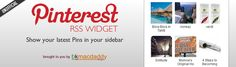 Pinterest Widget  Plugin for your WordPress blog. Displays Your Latest Pins