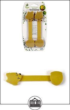 Lulabi Disney Winnie unidades 2tope de puerta para armario de ABS, Amarillo, 17.5cm  ✿ Seguridad para tu bebé - (Protege a tus hijos) ✿ ▬► Ver oferta: http://comprar.io/goto/B01897J2JK