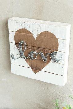 Copper Love String Art Wall Decor- gift-clalternate