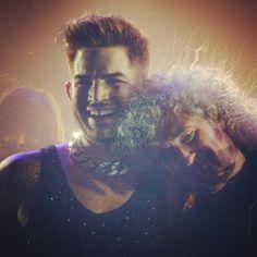 Adam and Brian May...love!