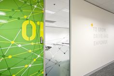 AICT Office Environmental Graphics