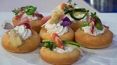 Ricette+Gianfranco+Iervolino:+le+graffe+salate+con+tre+farciture