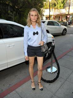 blondes women fashion diane kruger vogue magazine