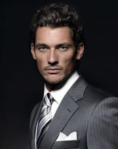 David Gandy, oh so handsome Outfits Casual, Mode Outfits, David Gandy, Sharp Dressed Man, Well Dressed Men, Look 2015, La Mode Masculine, Herren Outfit, Classic Man