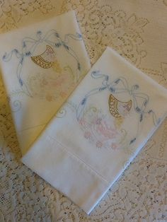 Daffodil Pattern 1940 11 Napkins Exquisite Madeira Shadow Applique Tablecloth