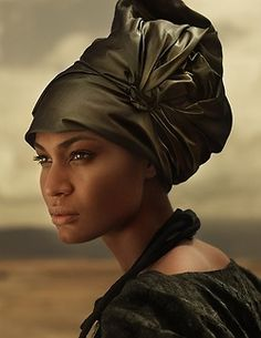 """African-Vintage: The culturally, """"Chic"""" 30s Wrap-Hat"""