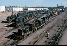 RailPictures.Net Photo: DRGW 144, DRGW 147 Denver & Rio Grande Western Railroad EMD SW1000 at Denver, Colorado by John Doughty