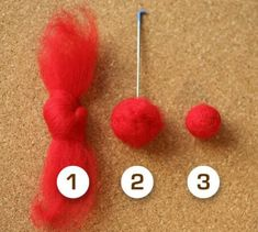 Different sizes wool felt ball x 100 multicolored. Different felt balls mixed color. DIY baby cell phoneDifferent sizes wool felt ball x 100 multicolored. Different felt balls mixed Felted Wool Crafts, Felt Crafts, Snowman Crafts, Paper Crafts, Nudo Simple, Needle Felting Tutorials, Wet Felting Projects, Felt Projects, Felt Ball