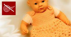 How to make a Crochet Baby Dress  Free Crochet Pattern by Crochet Geek
