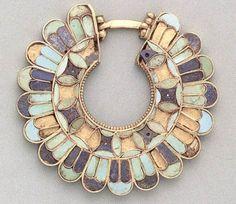 """ Sasanian Earring, ca 3rd- 6th century AD. """