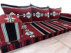 kilim sofa, oriental seating, traditional furniture,floor couch,arabic majlis,arabic seating,arabic cushions - MA 22. TRADITIONAL MIDDLE EASTERN ORIENTAL FLOOR SEATING SOFA Perfect for furnishing and decorating homes, hookah bars, hotels, cafeterias, etc. This handmade authentic Middle Eastern floor sofa will certainly add an element and mystic to any room or space. Our versatile floor sofa sets make the perfect finishing touch, wherever you may wish to use them SPEFICATIONS *This floor…