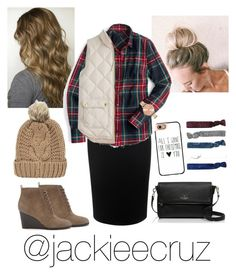 """""""Preppy for the holidays"""" by jackieecruz ❤ liked on Polyvore featuring Alexander McQueen, J.Crew, Olivia Burton, Forever 21, Kate Spade, Chicnova Fashion, Casetify and Monki"""