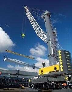 Liebherr Harbour Mobile Cranes