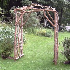 Garden Wooden Arches Designs 15 beautiful wooden arches creating romantic garden design Image Spark Image Tagged Rustic Garden Arch Susancohan