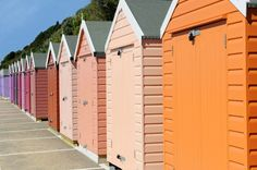 Bournemouth: Sunrise to Sunset beach huts by Bournemouth Council | Bournemouth | United Kingdom | Colour in Architecture 2011 WAN Awards