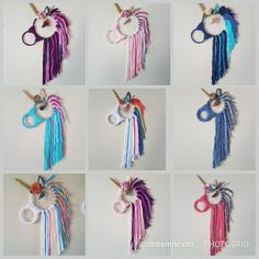 Unicorn dream catchers custom orders welcome