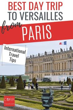 Get the best day trip to Versailles from Paris by train international travel tips so you know when and how to beat the crowds in your #Paris over 40 travel and solo travel. By @CORRTravel #CORRTravel International Travel Tips | Travel Tips and Tricks | Solo Travel Tips | Travel Planning | France Travel Guide | Travel Guides | Solo Travel Destinations | Over 40 Travel | Retirement Travel Ideas Paris Travel Tips, Solo Travel Tips, Europe Travel Guide, France Travel, Travel Destinations, Travel Ideas, Paris Tips, Budget Travel, Day Trip From Paris