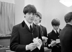 Backstage at The Ed Sullivan Show 2/9/1964