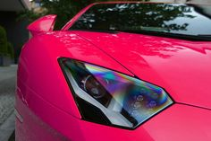 Aventador...oh jesus theres on in PINK