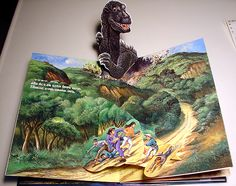 Godzilla pop-up book.  *g*