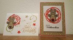 Ausgestochen Weihnachtlich und wunderbar verwickelt 🎄 Xmas, Cards