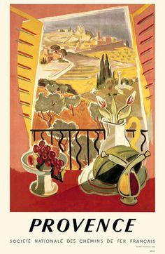 Vintage Provence France Giclee Art Print