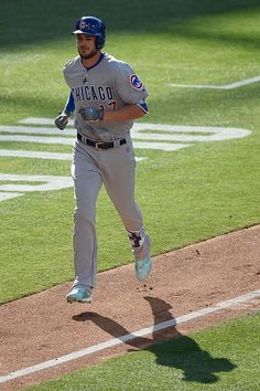 #Allstar2016 Kris Bryant of the Chicago Cubs and the National League rounds the…