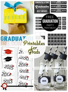 Graduation Printables - Everything you need for your Grad!