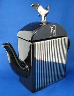 Rolls Royce Radiator Teapot Figural Morten Prestige 1980s UK Limousine – Antiques And Teacups