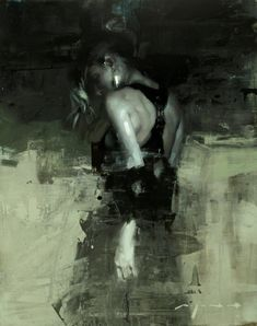 'Note in Pale Green no. 5' (2016) by Jeremy Mann