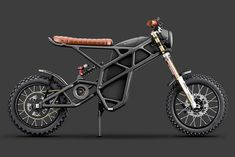 "Designer Pablo Baranoff Dorn had a simple question: ""Why not a scrambler?"" It's a valid inquiry—why not create an electric motorcycle that fits into the existing motorcycle culture? Scrambler Motorcycle, Moto Bike, Motorcycle Design, Bike Design, Motorcycle Bike, Electric Bicycle, Electric Cars, Electric Bike Motor, Honda Inspire"