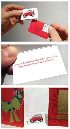 Smart: Christmas card