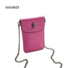 Women Crocodile Shoulder Bags Gilrs Mini Wallet Functional 6.5 Inch Phone Case F