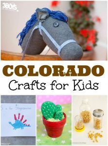 Colorado Crafts For Kids Crafts For Kids State Crafts Summer