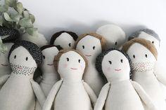 Handmade dolls. Sirimiri dolls.