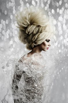 NAHA 2012 Hair: Sara Goddard Ph: Andrea Hanks Makeup: Daniela Rowson