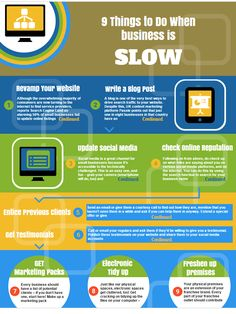 9 Things to Do When Business is Slow   Turn quiet times into productive times