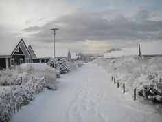 winter op Ameland is prachtig