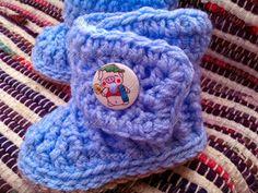 AG Handmades: Bryce Baby Booties