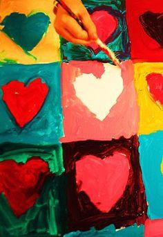 Studio Kids - Children's Art Classes in Ballard, Seattle: Collaborative Kids Paintings for School Fundraiser