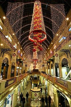 GUM, a department store in Moscow, Russia