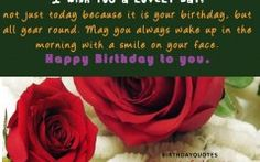 Happy Birthday Quotes And Sayings For My Husband Make Me Smile Quotes, Love Quotes For Her, Quote Of The Day, He Makes Me Smile, Girlfriend Quotes, Happy Birthday Quotes, Always Love You, Famous Quotes, Birthday Cards