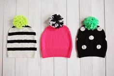Turn an old sweater into a new hat with this tutorial from A Beautiful Mess.