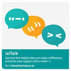 isiTalk provides a platform for basic peer-to-peer language learning within corporate- and organisational environments that empowers individuals to easily engage with others, thereby allowing them to cross socio-cultural barriers. http://www.blog.fnb.co.za/ideas-can-help/view-idea/?id=4912