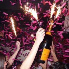 Champagne bottle sparklers birthday candle sparklers Sparkler