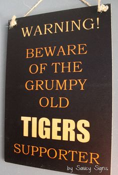 Grumpy Old Balmain Wests Tigers Rugby League Footy Football